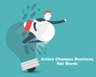 Action Changes Business, Not Words! Edmonton Chartered Accountants HLH