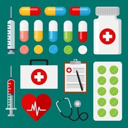 professional services - overproduction of medical suppies