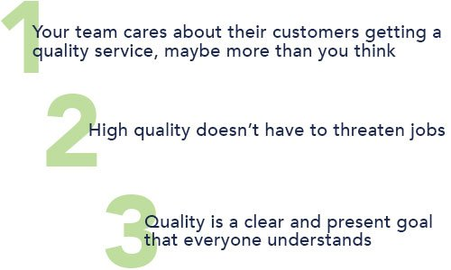 pros of quality professional services
